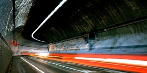 Photo of the Day: Rotherhithe Tunnel By Night