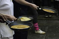 Plentiful Pancakes in Kensington on Shrove Tuesday