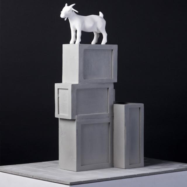 I Goat Wins Spitalfields Sculpture Prize