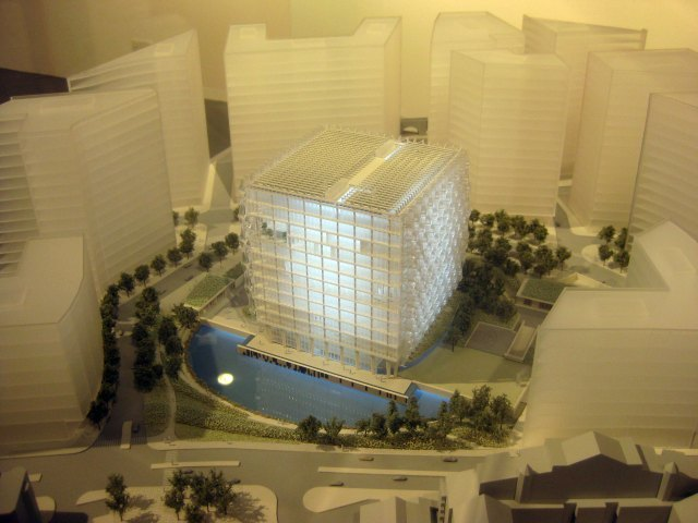The winning design, by KierenTimberlake.