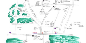 Hand-Drawn Maps of London: #2 Notting Hill
