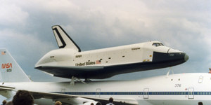 The Day The Space Shuttle Came To London