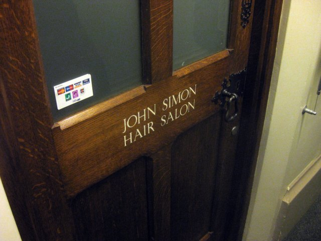 ...And the parliamentary hair salon.