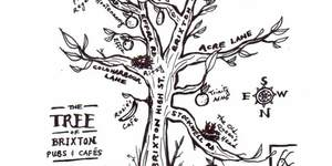 Hand-Drawn Maps of London: Brixton as a Tree