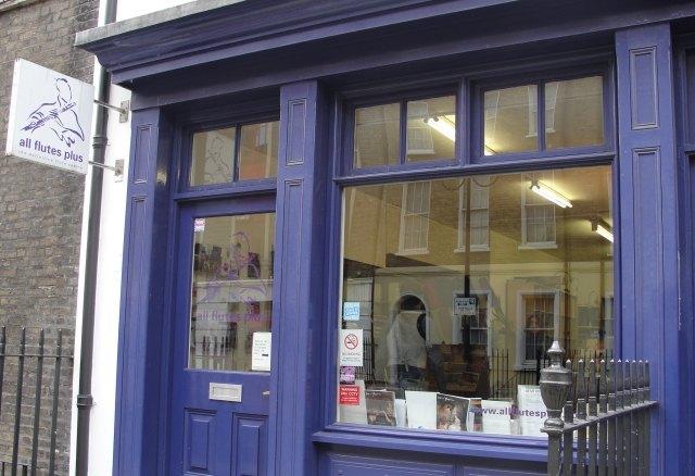 """Warren Street: """"Only the flute shop..."""