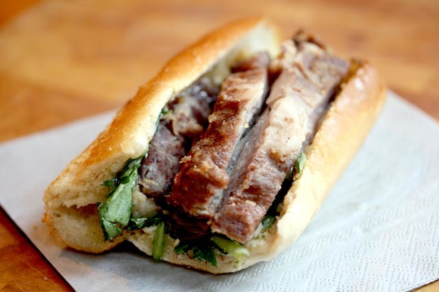 Sandwichist - Roast Lamb Baguette From O'Shea's Butchers, Knightsbridge