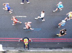 Hot On Your Heels For The London Marathon