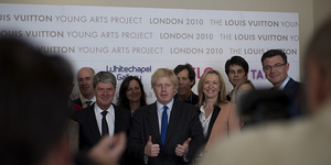 Boris Endorses Louis Vuitton's London-Based Young Arts Project