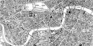 Hand-Drawn Maps of London: Where The Streets Have No Names