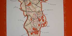 Hand-Drawn Maps of London: The Borough of Southwark
