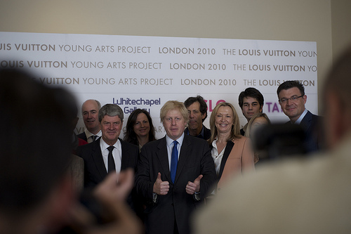 Boris Endorses Louis Vuitton's London-Based Young Arts Project