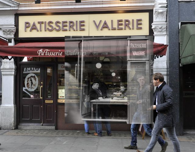 Patisserie Valerie on Old Compton Street.