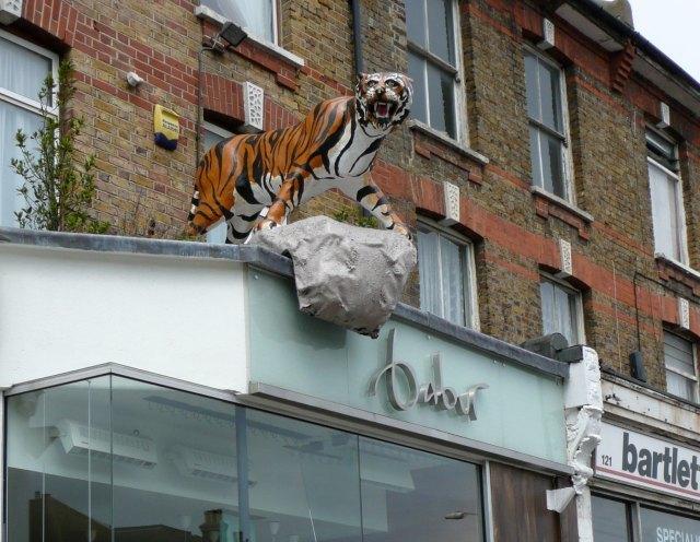 Babur Brasserie's big rawry tiger