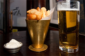 London's Best Chips: The Fox & Anchor, Clerkenwell