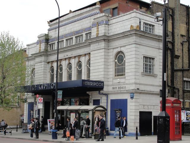 The old Capitol cinema, now a Wetherspoons / image by Rachel H