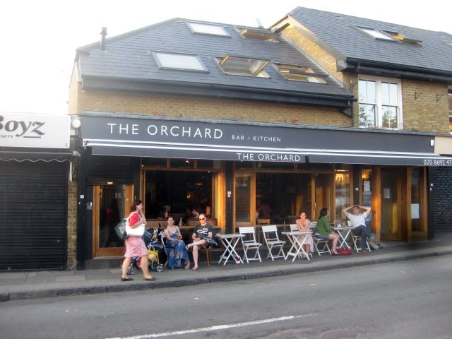 The Orchard near Brockley station