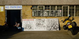 Art Saves Lives Launch HOT TAP, New Cross