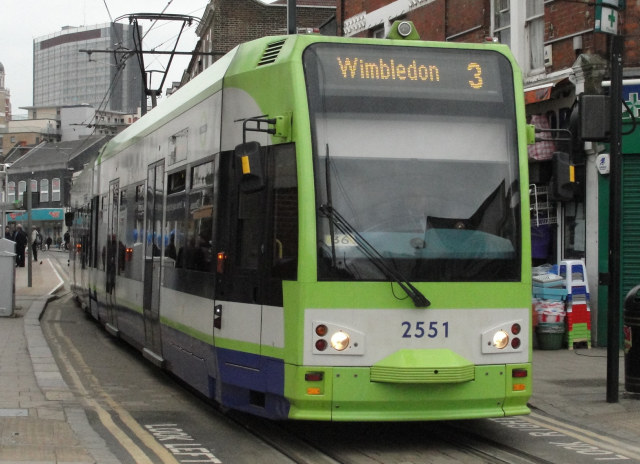 Croydon's famous trams