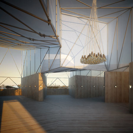Temporary Restaurant Overlooking Olympic Site To Open