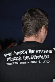 Live Review: Rage Against The Machine Free Gig