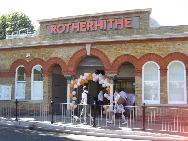 Rotherhithe station