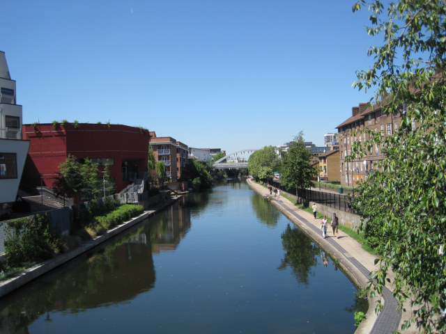 Regent's Canal at Haggerston