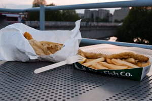 London's Best Chips: Fishcoteque Vs. Fine Fish Co.