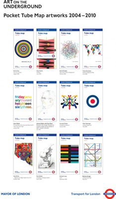 Vote For Your Favourite Tube Map Cover, Win A Prize