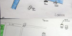 Hand-Drawn Maps Of London: A Tale Of Two Cities