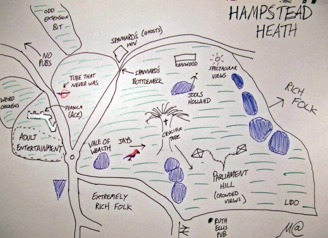 Wanted: More Hand-Drawn Maps Of London