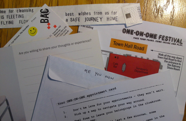 Theatre Review: One On One Festival @ BAC