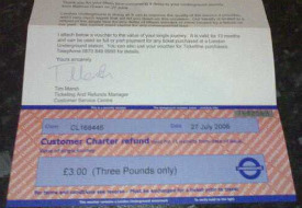 Get Emailed Reminders About Tube Refunds