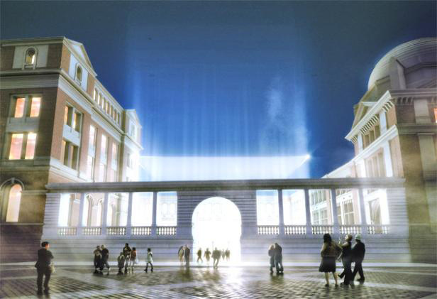 Snohetta's design study for the new V&A extension