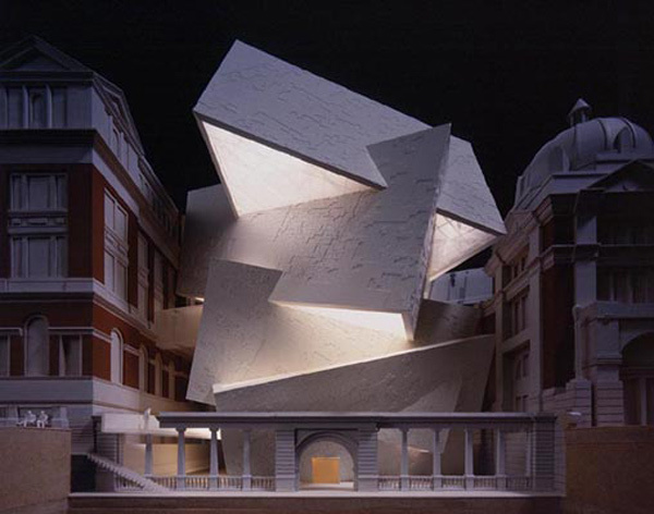 Daniel Libeskind's Spiral, approved in the 1990s but cancelled in 2004