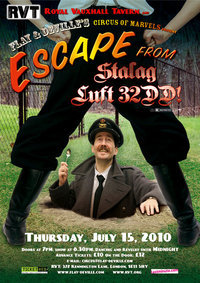 Cabaret Review: Escape From Stalag Luft 32DD @ Royal Vauxhall Tavern