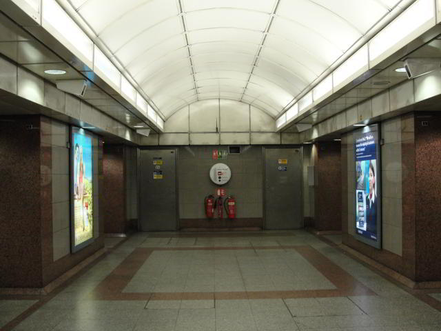 """""""She had found the train to the underworld exactly as Hermes had said - down at the bottom of Angel tube station and through the back wall."""" p.155"""