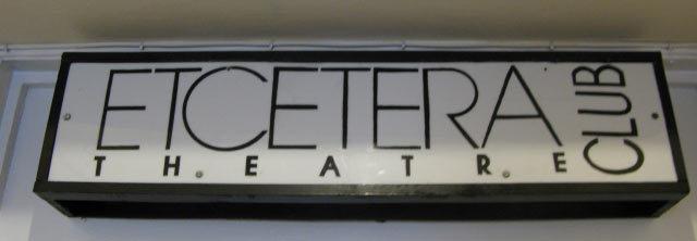 Fringe Benefits: Etcetera Theatre