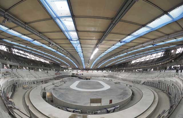 Inside the Velodrome