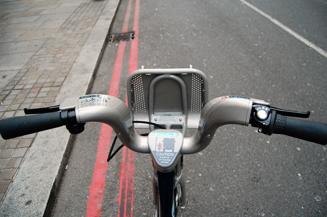 Rider's-eye view