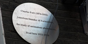 Fortean London: Charles Fort in London