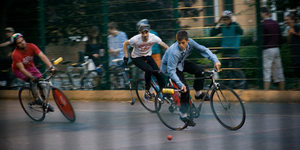 Preview: London Open Bike Polo Tournament