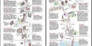 Hand-Drawn Maps of London: Angel To Bankside
