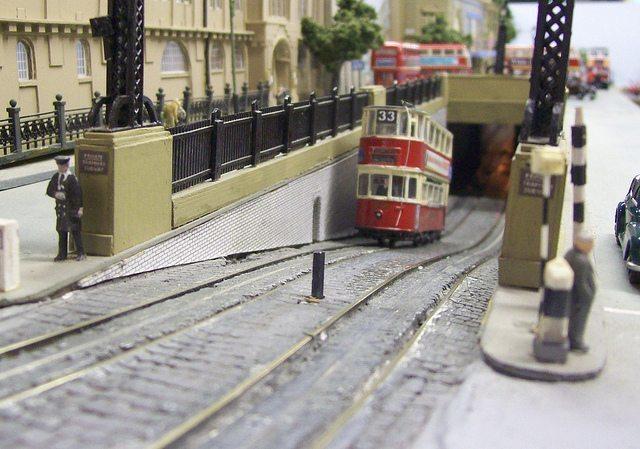 Handmade Models Of London Tube Stations