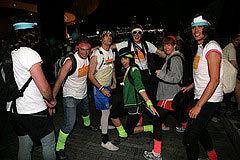 Team Of Ten For London 20 Night Hike