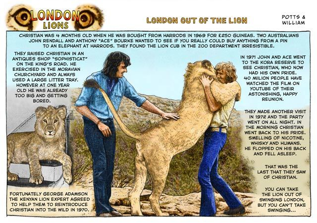 Lions of London #40