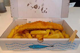 London's Best Chips: The Fish House
