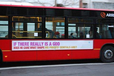 Catholics Take Out Bus Ads Aimed At Pope