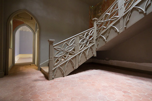 Staircase, and door leading into the Great Parlour.