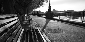 Photo of the Day: Deserted Southbank
