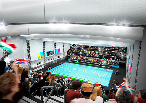 Olympic Water Polo Arena Approved